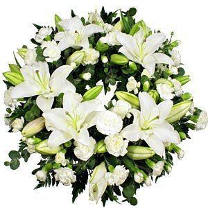 white-lily-wreath