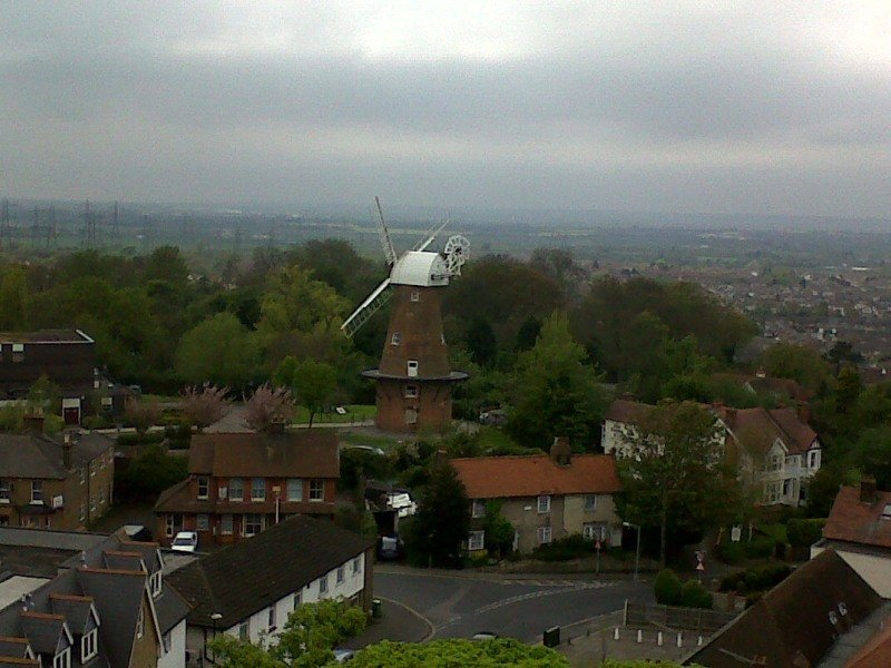 Windmill From The Tower