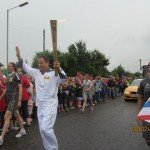 Torch Bearer Jason Hsuan (Photo by Claire Smart )