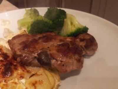 Lemon And Black Pepper Pork Steaks