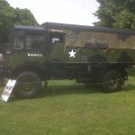 A WW2 truck, used for towing artillery.