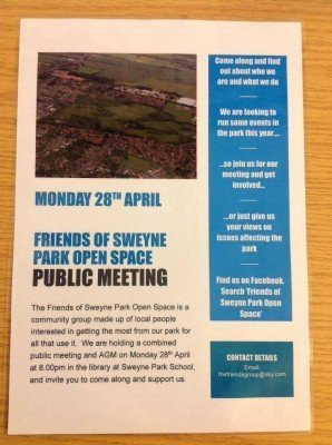friends of sweyne park meeting