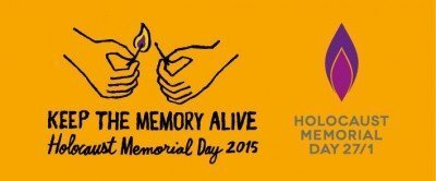 Picture - Keep the Memory Alive - Holocaust Memorial Day 2015