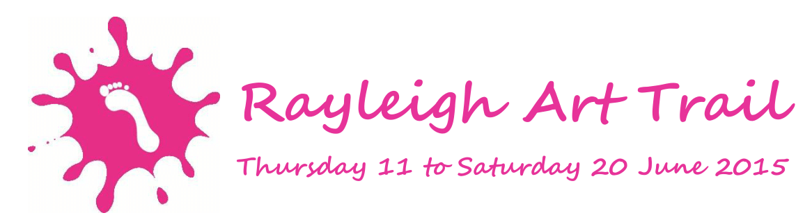 Rayleigh Art Trail - Header with dates 2015-1c