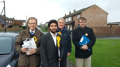 Five Go Canvassing Again In Rochford