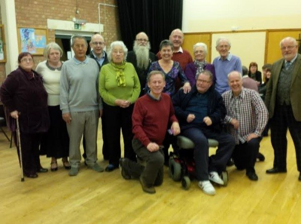 A group photo of former and current  councillors